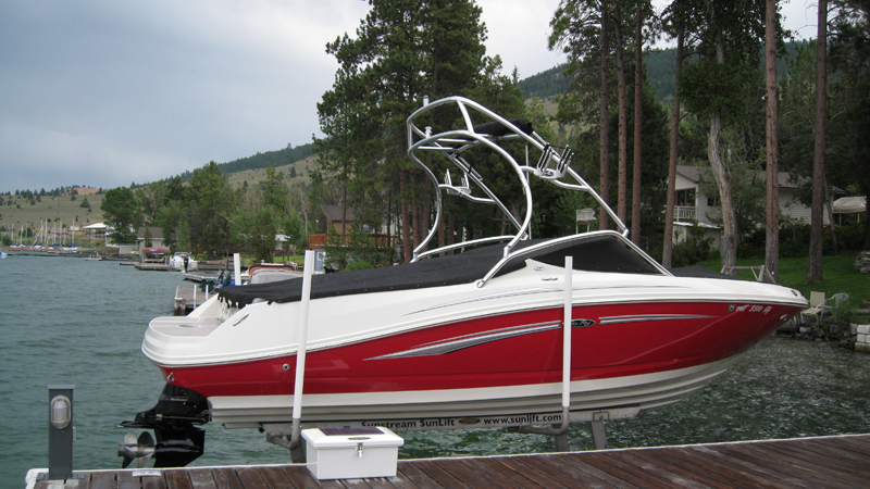 Boat Lifts from Montana Dock Builders