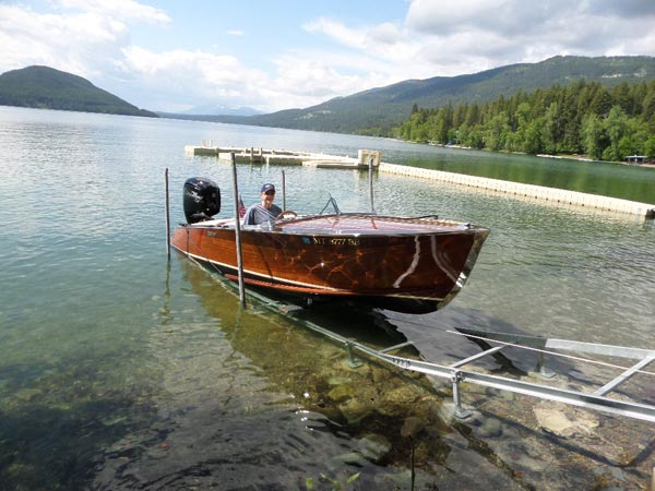 Boat Rail Systems from Montana Dock Builders